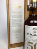 Macallan 50 Year Old 75cl (2018 Release)
