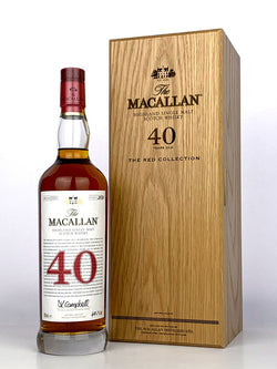 Macallan 40 Year Old Red Collection (2020 Release)