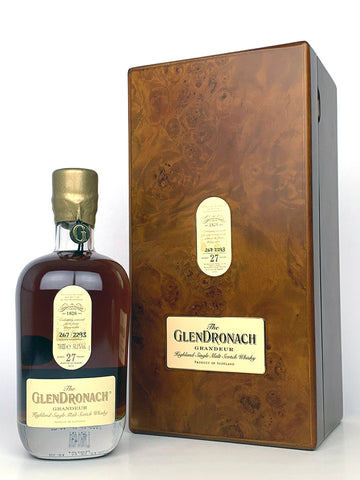 Glendronach 27 Year Old Grandeur Batch 10