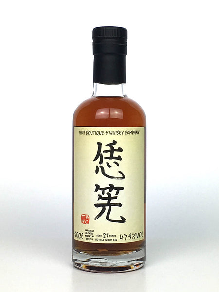 That Boutique-y Whisky Company Japanese Blended 21 Year Old Batch #1