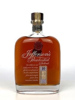 Jefferson's Presidential Select 20 Year Old