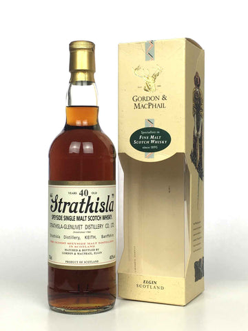 Strathisla G&M 40 Year Old