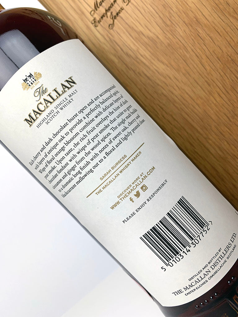 Macallan 52 Year Old (2018 Release) – The Whisky Source
