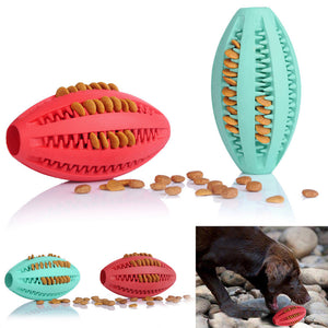 Pets Dog Toy Rubber Rugby Football Toys for Dog