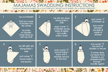 The Swaddling Blanket & Baby Hat