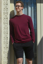 The Lorenzo Long Sleeve - Men's Crew Neck X-Long Tee Shirt