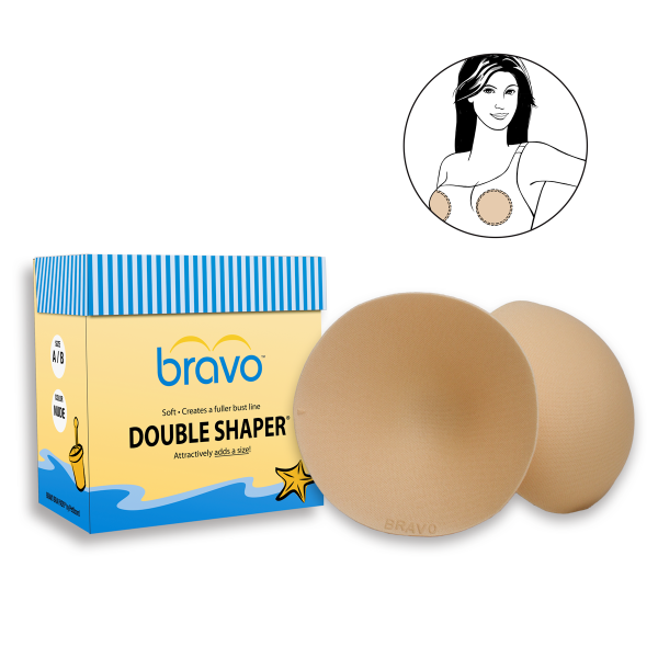 The Bravo Bra Pad / Double Shaper