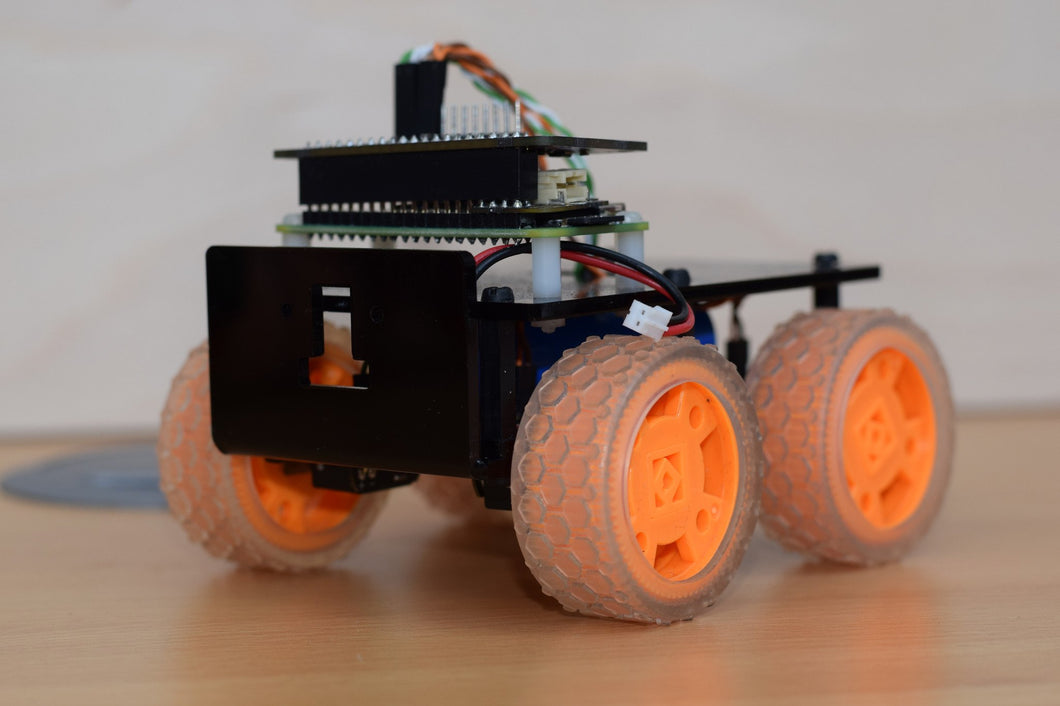 Tiny 4WD Robot Kit