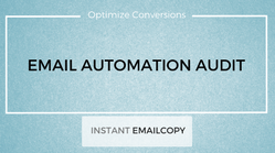 Conduct an audit on my current email marketing & recommend actions to optimize and increase sales