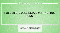 Full Life-cycle Email Marketing Plan for eCommerce