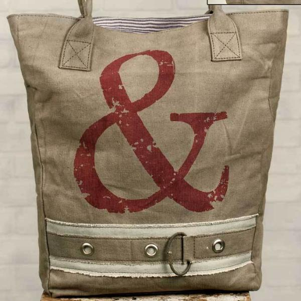 & Ampersand Market Tote Bag