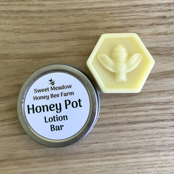Sweet Meadow Honey Bee Farm Lotion Bar