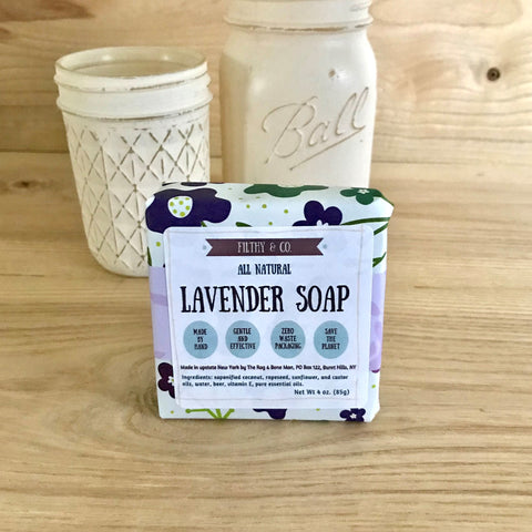 Lavender Soap - All Natural, Vegan