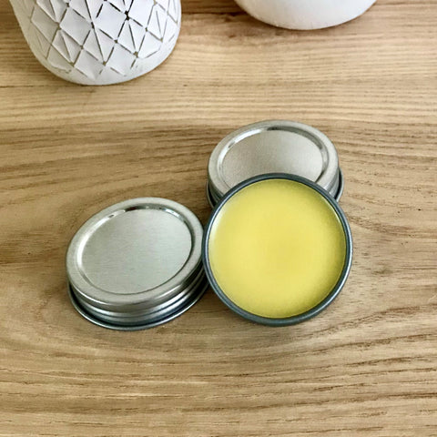 Private Label Lip Balm in 0.5 oz. Tins - Unlabeled - Case of 24