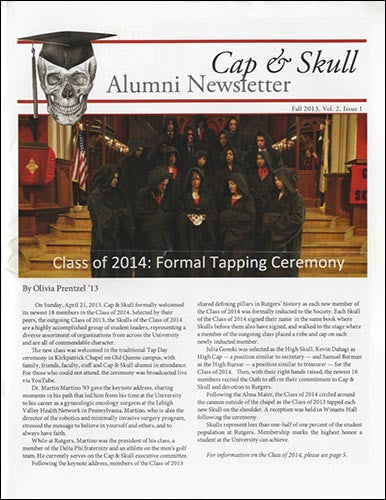 Alumni Newsletter - Fall 2013
