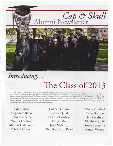 Alumni Newsletter - Fall 2012