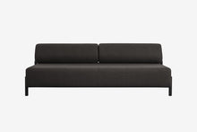 Load image into Gallery viewer, Palo 2-Seater Sofa Black-Brown