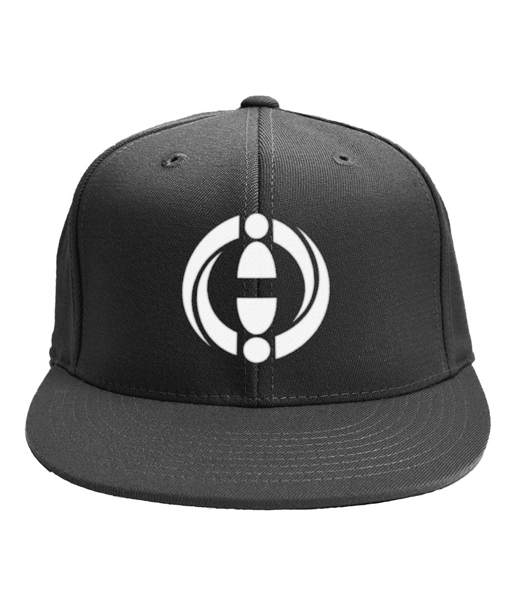 6-Panel Classic Snapback Embroidered CHI Logo Hat