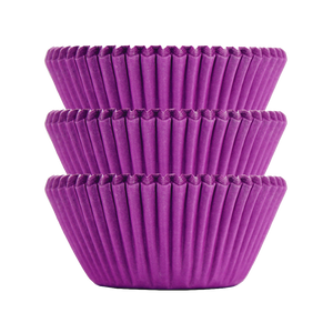 Electric Purple Plain Baking Cups