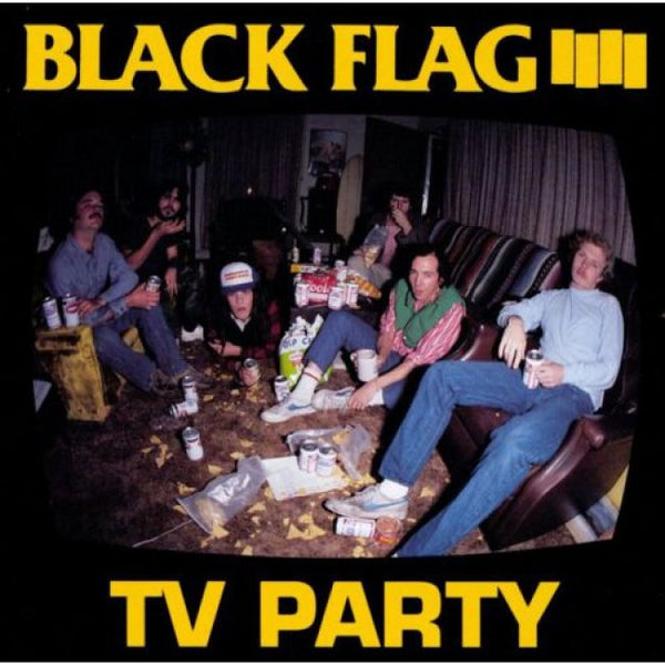 Black Flag - TV Party 7""