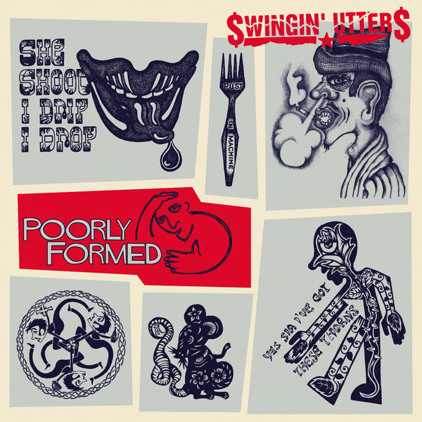 Swingin' Utters ‎– Poorly Formed