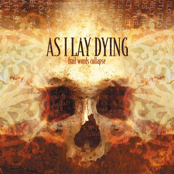 As I Lay Dying - Frail Words Collapse (Brown/Yellow vinyl /1500)
