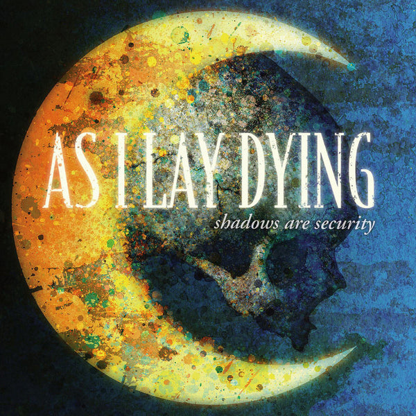 As I Lay Dying - Shadows Are Security (Blue/Yellow vinyl /1500)