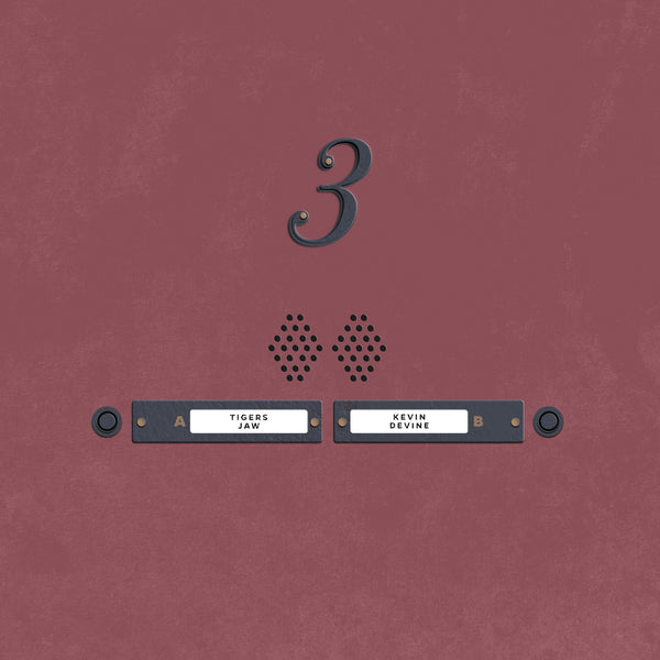 Tigers Jaw/Kevin Devine - Devinyl Splits No. 3 7""