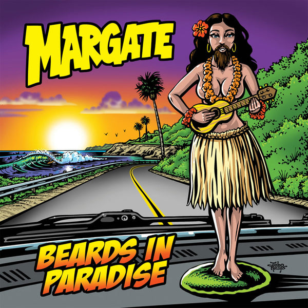 Margate - Beards In Paradise 10""