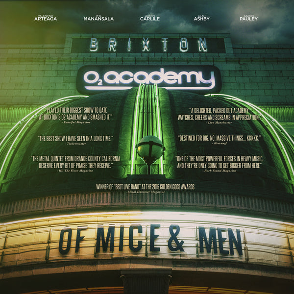 Of Mice & Men - Live at Brixton (includes DVD)