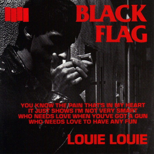 Black Flag - Louie Louie 7""