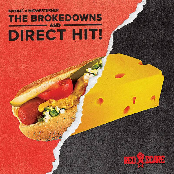 Brokedowns/Direct Hit! - Making A Midwesterner 7""