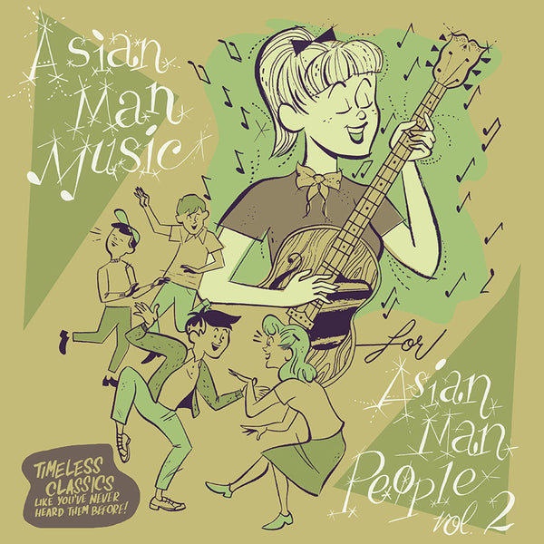 V/A ‎– Asian Man Music For Asian Man People Vol. 2