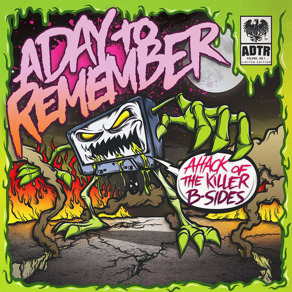 A Day To Remember - Attack Of The Killer B-Sides 7""