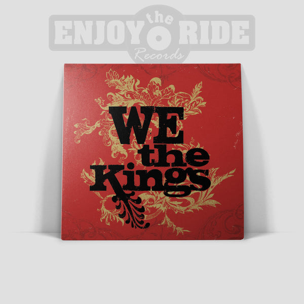 We The Kings - Self Titled (Smartpunk Exclusive Clear with Red & Black Splatter /250)