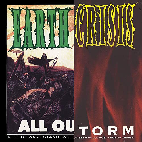 Earth Crisis - All Out War / Firestorm Split 12""