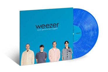 Weezer - Dusty Gems: The B-Sides /Translucent Blue & White Marble Vinyl