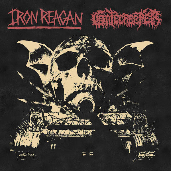 Iron Reagan / Gatecreeper - Split LP