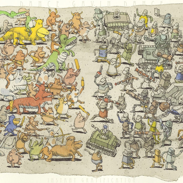 Dance Gavin Dance - Instant Gratification