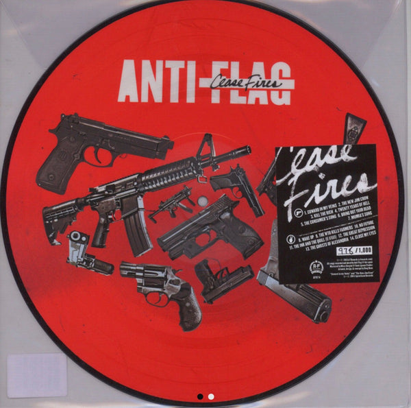 Anti-Flag - Cease Fire (Picture Disc)