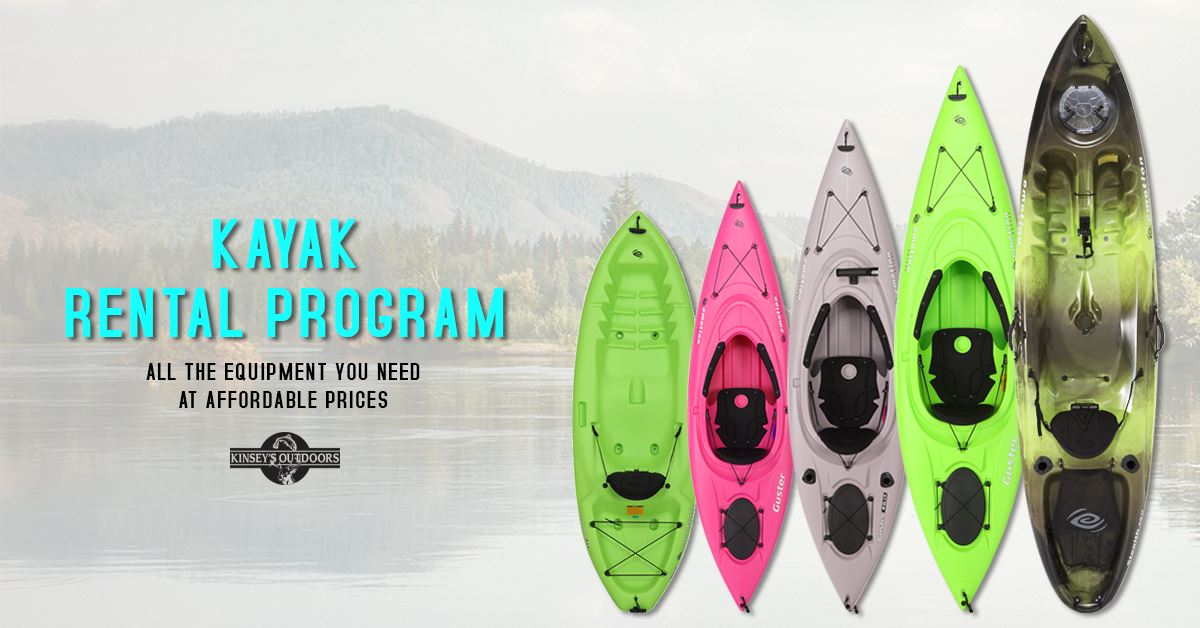 Single and Double kayak rental