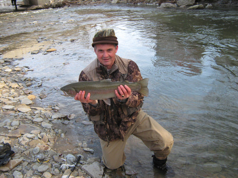 Spring Steelhead Fishing Opportunities on the Lake Erie