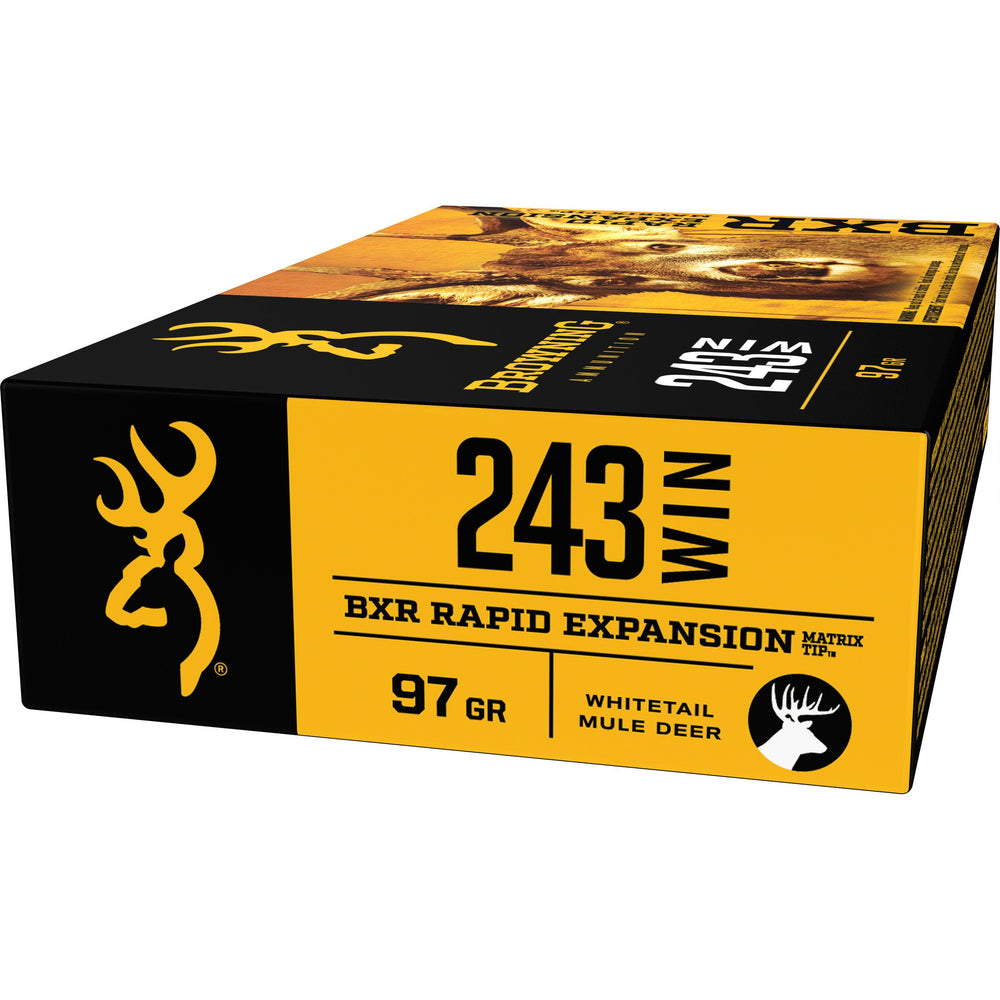 Browning Deer BXR .243 Win 97 Grain 20 Rounds