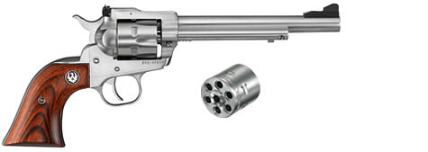 Ruger Single Six Convertible Stainless Single-Action Revolver