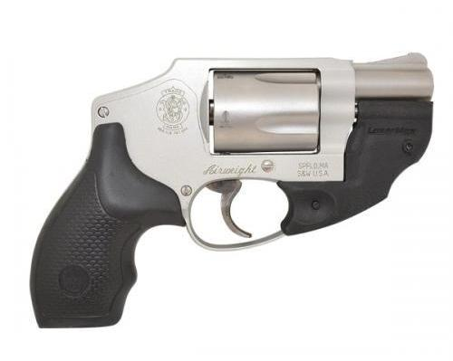 Smith & Wesson Model 637 Lasermax Stainless Steel Single/Double Action Revolver