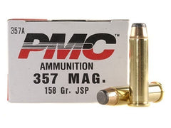 PMC .357 Magnum 158 Grain JSP 50 Rounds