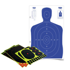 "Birchwood Shoot-N-C Silhouette 12""x18"" Target Kit"