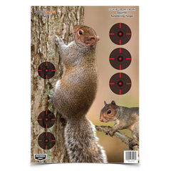 "Birchwood Pregame 12""x18"" Squirrel Target 8 Pack"