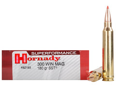 Hornady Superformance .300 Win Mag 180 Grain SST 20 Rounds