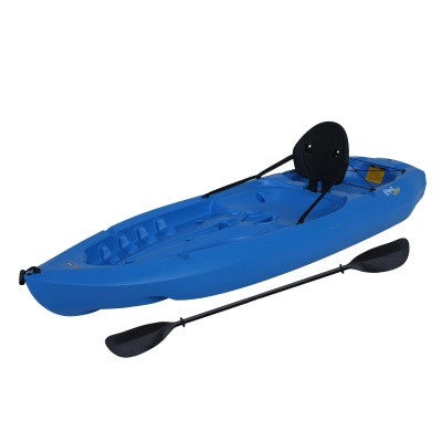 Lifetime Sit on Top Lotus Kayak with Paddle and Backrest 8'